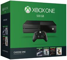 NEW Microsoft Xbox One 500GB NAME YOUR GAME bundle Black Console Choose a game!