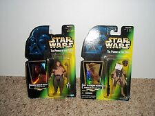 LOT OF 2 STAR WARS POWER OF THE FORCE ACTION FIGURES