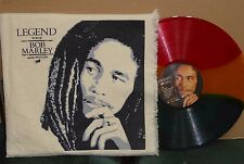 Bob Marley and the Wailers Legends Hemp Cloth 3 colored vinyl LP record reggae