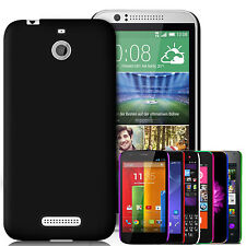 Rubberised Feel Hard Back Case Cover & Screen Guard For Various Mobile Phones