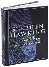 ILLUSTRATED A BRIEF HISTORY OF TIME & UNIVERSE IN A NUTSHELL by Stephen Hawking