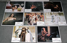 ROMEO AND JULIET original lobby card set OLIVIA HUSSEY/LEONARD WHITING
