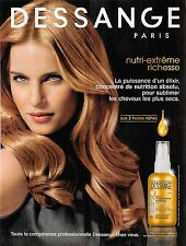 Publicité Advertising 2011 Dessange (Advertising paper)