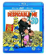 Despicable Me (3D Blu-ray, 2011, 2-Disc Set)