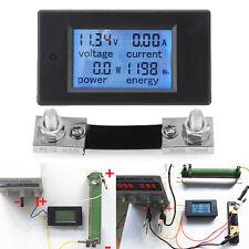 Digital Power Current Meter Energy Monitor Module Voltmeter Ammeter with Shunt