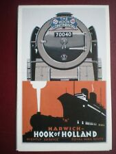 POSTCARD BR NAMED TRAIN 'THE HOOK CONTINENTAL' LOCO 70040 - HARWICL - HOOK OF HO