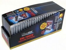 Lot of (25) ~ Ultra Pro 1 One Touch Magnetic Card Holders ~ 130pt
