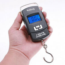 50kg 10g Portable Handheld Electronic Digital LCD Travel Luggage Weighing Scale