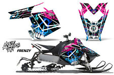 Sled Decal Wrap Polaris Pro RMK Rush Snowmobile Graphics Kit 2011-2014 FRENZY U