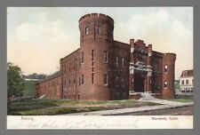 [52860] OLD POSTCARD THE ARMORY in NORWICH, CONNECTICUT