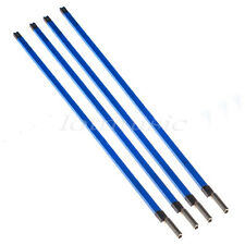 """4p Double Course Stainless Steel Guitar Bass Neck Truss Rod Stick 22 3/4"""" (580mm"""