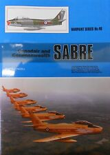 Warpaint Series No.40 Canadair & Commonwealth SABRE 52 Pages Book