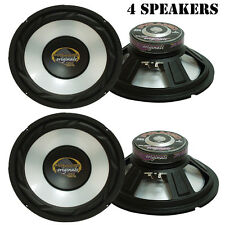 Lot of 4 NEW Pyramid WX65X 6.5'' High Power White Injected P.P. Cone Woofer