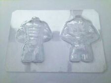 3D MUSCLE MAN TORSO MOULD MOLD VALENTINES DAY CHOCOLATE JELLY ICE SUGARCRAFT