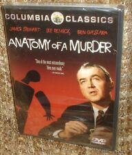 Anatomy of a Murder (DVD, 2000),New & Sealed,James Stewart Academy Award Nominee