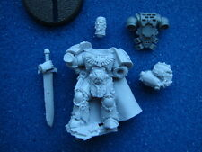 40K SPACE MARINE CAPTAIN COMMANDER CHAPTER MASTER IN POWER ARMOUR **NEW** (P3)