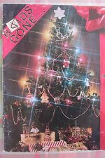 VTG BEADS GONE CHRISTMAS BEADING PATTERN BOOK ORNAMENTS CANDLES WREATH