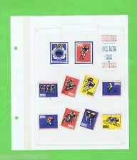 #T6.  BICYCLE  RACING   SERIES MATCHBOX LABEL SET