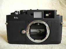Voigtlander Bessa R4A Leica M-Mount 35mm film camera. Very good cosmetic conditi