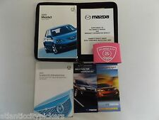 2005 MAZDA3 OWNER'S MANUAL WITH CASE