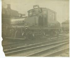 Vintage Milwaukee Road B&W Photo Railroad  Engine #10000  1920s-30s #2