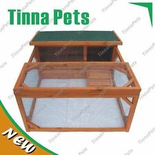 Extra window Rabbit,Ferret,Guinea Pig Cage with Run Hutch T017 Free pick up