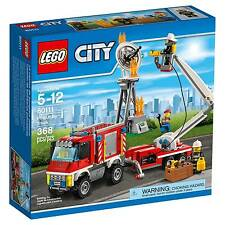 LEGO City Fire Utility Truck 60111 Damaged Packaging, NEW