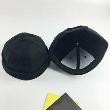 1X Skullcap Sailor Cap Hat Docker Black Rolled Cuff Retro Men Fashion Brimless
