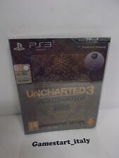UNCHARTED 3 L'INGANNO DI DRAKE SPECIAL EDITION - SONY PS3 - NUOVO SIGILLATO NEW