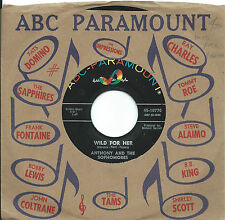 Anthony & Sophomores:Wild for her/Get back to you:ABC Paramount:Northern Soul