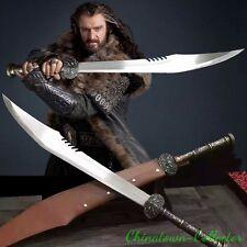 Lord of the Rings Hobbit Elven Orcrist Sword High manganese steel blade #0007