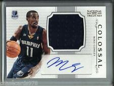 Mike Conley 12/13 National Treasures Autograph Game Used Jersey #45/49