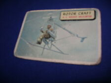 1952 TOPPS PLANES TRADING CARD #72 ROTOR CRAFT U.S ROCKET HELICOPTER
