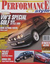 Performance & Style 05/1995 featuring Gemballa, BMW Z1, Holden, Porsche, Alpina