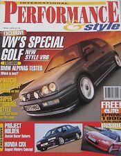 Performance & Style 05/1995 featuring Gemballa, BMW Z1, Holden, Porsche, Alpina