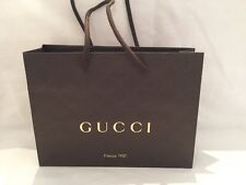 Genuine GUCCI Shopping Paper Gift Carry Bag