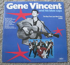 Gene Vincent & His Blue Caps - The Bop That Just Won't Stop - Capitol -Mono - NM