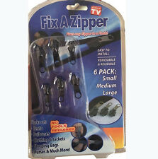 New Fix A Zipper Zip Slider Repair Instant Kit Removable Rescue Replacement Zips