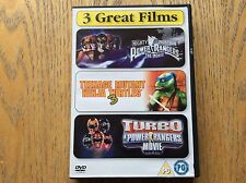 Power Rangers And Teenage Mutant Ninja Turtles Dvd Boxset! Look At My Other Dvds