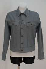 WOMENS G-STAR JEANS DENIM JACKET COTTON BLUE SIZE L LARGE VGC