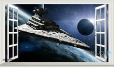 Star Wars Spaceship Galaxy 3D Window Wall Decals Kids Stickers Art Mural Decor
