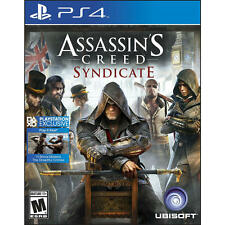 ASSASINS CREED SYNDICATE PS4 NEW! INCLUDES 10 BONUS MISSIONS! UNDERWORLD QUEST