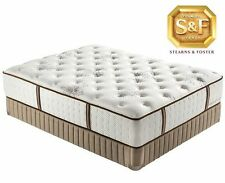 STEARNS & FOSTER CORA LUXURY EURO FIRM QUEEN SIZE MATTRESS.
