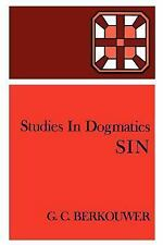 Studies in Dogmatics: Sin by G. C. Berkouwer (1971, Paperback)