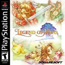 Legend Of Mana PS1 Great Condition Fast Shipping