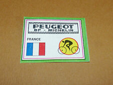 N°68 B PEUGEOT FRANCE PANINI SPRINT 71 CYCLISME 1971 WIELRIJDER CICLISMO CYCLING