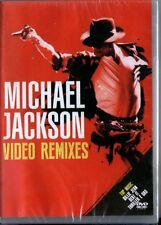 MICHAEL JACKSON VIDEO REMIXES DVD 10 TRACKS EXCLUSIVE RARE SEALED!!!