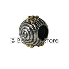 NEW Pandora Ebb and Flow Two Tone Charm 925 Silver 14k Gold ALE Genuine 790306