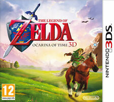 The Legend of Zelda: Ocarina of Time 3D and Rayman 3DS Both Boxed UK PAL