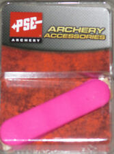 New PSE Pink Rubber Panel Grip Vibration Dampener GripsGirls Bow Handle #01189PK